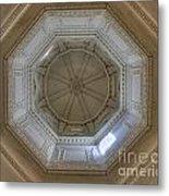 18th Century State House Rotunda Dome Metal Print