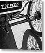 1911 Ford Model T Torpedo Grille Emblem Metal Print by Jill Reger