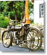 1911 Yale Motorcycle Metal Print