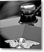 1912 Hispano-suiza 15-45 Hp Alfonso Xiii Jaquot Torpedo Hood Emblem Metal Print