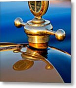 1922 Studebaker Touring Hood Ornament 3 Metal Print