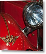 1927 Hudson Fire Engine Metal Print