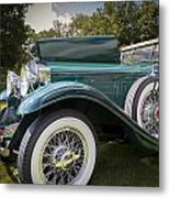 1929 Isotta Fraschini Tipo 8a Convertible Sedan Metal Print