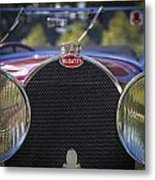1930 Bugatti Type 50 Drop Head Coup Metal Print