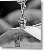 1930 Rolls-royce Phantom I Transformal Phaeton Hood Ornament Metal Print
