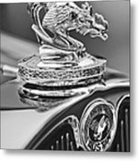 1931 American Austin Roadster Hood Ornament Metal Print