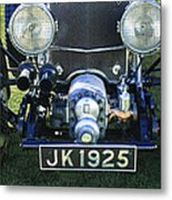 1931 Bentley 4.5 Liter Supercharged Le Mans Grille Metal Print