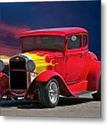 1931 Ford 'model A' Coupe Metal Print