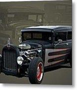 1931 Ford Sedan Hot Rod Metal Print
