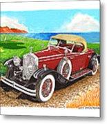 Rolls Royce Henley Roadster Metal Print