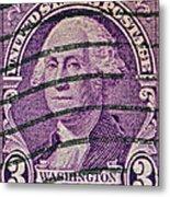 1932 George Washington Stamp Metal Print