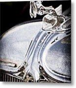1933 Chrysler Imperial Hood Ornament - Emblem Metal Print