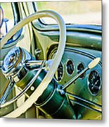 1933 Pontiac Steering Wheel -0463c Metal Print