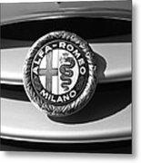 1934 Alfa Romeo 8c Zagato Emblem Metal Print