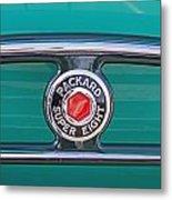 1934 Packard Super 8 Emblem Metal Print