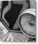 1935 Aston Martin Ulster Race Car Grille Metal Print