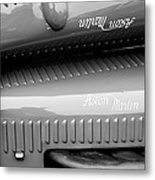 1935 Aston Martin Ulster Race Car Hood Metal Print by Jill Reger
