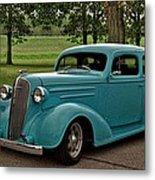 1936 Chevrolet Sedan Hot Rod Metal Print