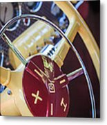 1937 Cord 812 Phaeton Steering Wheel Metal Print