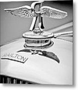 1937 Railton Rippon Brothers Special Limousine Hood Ornament Metal Print