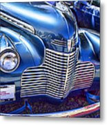 1940 Chevy Grill Metal Print