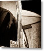 1940 Ford Hood Ornament Metal Print
