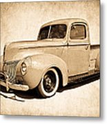 1940 Ford Pickup Metal Print