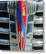 1941 Buick Eight Special Emblem Metal Print