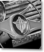1941 Chevrolet Steering Wheel Emblem Metal Print