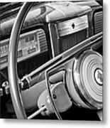 1941 Packard Steering Wheel Metal Print