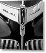 1941 Studebaker Champion Hood Emblem Metal Print