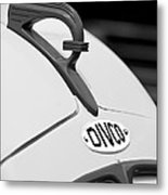 1950 Divco Milk Truck Hood Ornament Metal Print