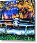 1950 Ford To Be Reconditioned Metal Print