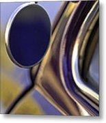 1950 Mercury Custom Lead Sled Side Mirror Metal Print
