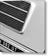 1951 Aston Martin Db2 Coupe Side Emblem Metal Print