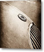 1951 Jaguar Grille Emblem Metal Print