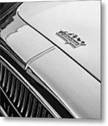 1952 Cunningham C-3 Coupe Hood Emblem Metal Print