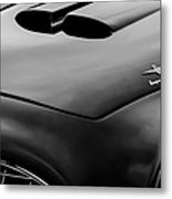 1952 Ferrari 212 225 Barchetta Hood Emblems Metal Print
