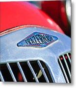 1952 Frazer-nash Le Mans Replica Mkii Competition Model Grille Emblem Metal Print