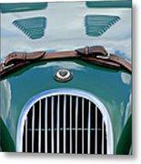 1952 Jaguar Xk 120 John May Speciale Grille Emblem Metal Print