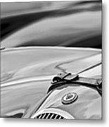 1952 Jaguar Xk 120 John May Speciale Hood Emblem Metal Print