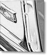1953 Chevrolet Belair Convertible Emblem Metal Print