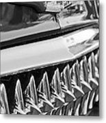 1953 Chevrolet Grille Emblem Metal Print