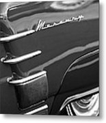 1953 Mercury Monterey Wheel Emblem Metal Print