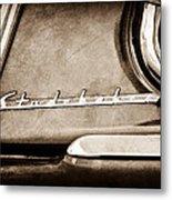 1953 Studebaker Champion Starliner Side Emblem Metal Print