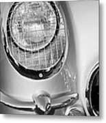 1954 Chevrolet Corvette Headlight Metal Print