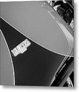 1954 Kurtis-kraft 500s Continuation Hood Emblem Metal Print