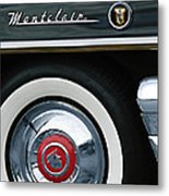 1955 Mercury Montclair Convertible Wheel Emblem Metal Print