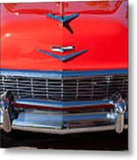 1956 Chevrolet Belair Convertible Custom V8 Metal Print