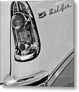 1956 Chevrolet Belair Taillight Emblem Metal Print